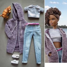 Overall, I have to say, I love our looks! Barbie Et Ken, Barbie Doll House, Barbie Toys, Barbie Life, Sewing Barbie Clothes, Barbie Clothes Patterns, Doll Dress Patterns, Clothing Patterns, Accessoires Barbie
