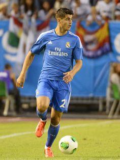 Alvaro Morata of Real Madrid