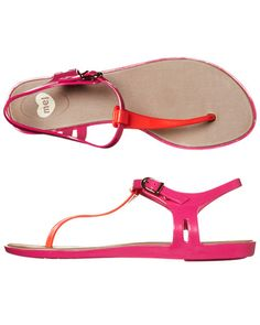 SURFSTITCH - FOOTWEAR - WOMENS FOOTWEAR - FASHION SANDALS - MEL BLACKBERRY SANDAL - RED PINK