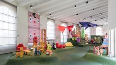 exposicion triennale girogirotondo de milano diseño para niños