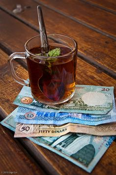 We #Jordanians love our tea! morning ,evening with breakfast, its always on the table. We usualy love it with mint of sage .And its the perfect digestive !