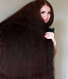 Image may contain: 1 person, indoor Long Dark Hair, Very Long Hair, Braids For Long Hair, Long Hair Drawing, Long Hair Models, Hair Images, Beautiful Long Hair, Big Hair, Hair Beauty