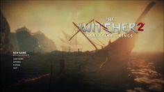 The Witcher 2 Title Screen