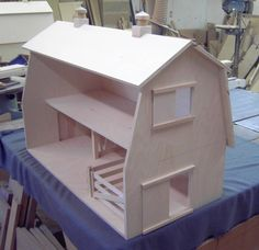 Custom Made Toy Barn