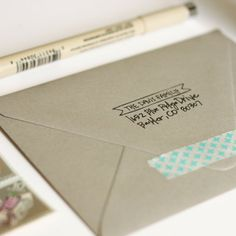 Banner Custom Address Stamp