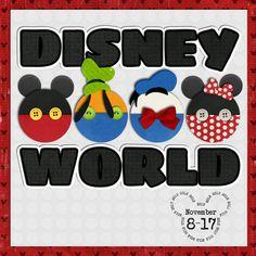 Disney scrapbook album cover by Aussiegirl; Scrapbook Cover, Disney Scrapbook Pages, Scrapbook Sketches, Scrapbook Page Layouts, Scrapbook Paper Crafts, Scrapbook Cards, Scrapbooking Ideas, Style Disney, Deco Disney