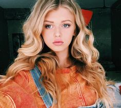 Designer Clothes, Shoes & Bags for Women Loren Gray, Stylish Girl Images, Girl Photo Poses, Girls Image, Beautiful Eyes, Blonde Hair, Hair Makeup, Instagram, Hair Beauty