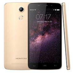 "HOMTOM HT17 5.5 inch 4G Android 6.0 FDD LTE Unlocked Smartphone MTK6737 Quad Core 1GB8GB 1280x720 3000mAh OTG Fingerprint ID 5.5"" Unlocked Cell Phones (Gold) #UnlockedCellPhones"
