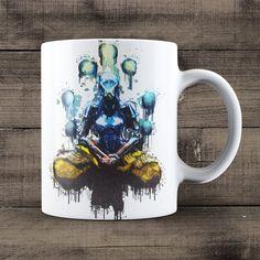 Zenyatta Coffee Mug, Overwatch Game Mug
