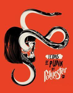 Icons of Punk on Behance