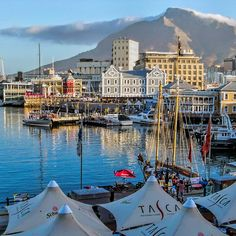 'V & A Waterfront Cape Town South Africa' by Lynn Bolt Seychelles, Uganda, Oh The Places You'll Go, Places To Visit, South Afrika, V&a Waterfront, Namibia, Le Cap, Cape Town South Africa