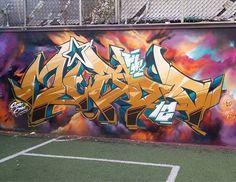 Grafitti Art by Miedo