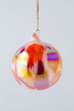 Marbled Glass Orb by Anthropologie