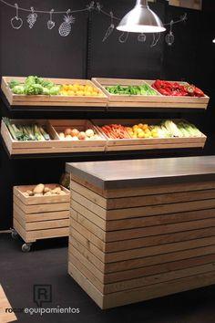 Serie Box. Ideal para frutería y verdulería.                                                                                                                                                                                 More