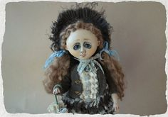 Hey, I found this really awesome Etsy listing at https://www.etsy.com/listing/177296491/ooak-art-doll-elle