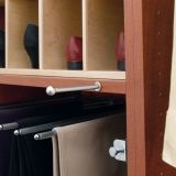 Attirant Retractable Valet Rod, Satin Nickel $25.00 Closet Rod, Master Closet, Rod  Rack,