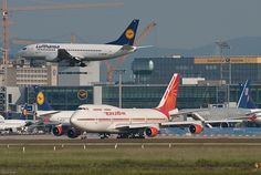Air India एर इंडिया Boeing 747-437 VT-EVA Agra आगरा (31199) by Thomas Becker, via Flickr