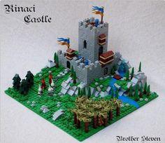 Rinaci Castle   ReBrick   From LEGO Fan To LEGO Fan