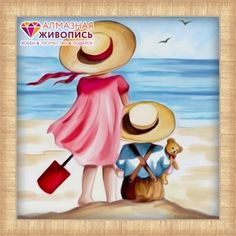 Vacation on the beach From Artibalta - Diamond Painting - Kits - Casa Cenina