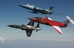 F-104 Starfighters