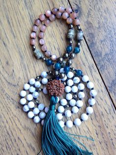 Seva in Sanskrit means service, selfless service performed with gratitude. This Mala was inspired by an article about Seva from Dr. Rajiv. Your