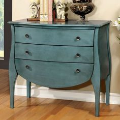 Features: -Frame construction: Solid wood and wood veneers. -French country style 3-drawer chest. -Metal hardware pairs elegantly with the wide design. Top Material: -Solid Wood. Base Material: -