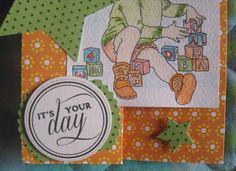 Betta Scrap: Buon compleanno Michelangelo!