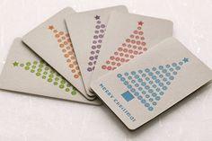 letterpress christmas cards - Google Search