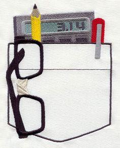 Nerd Pocket design (UT2932) from UrbanThreads.com