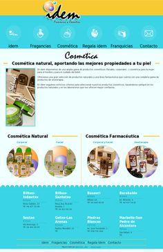 En idem disponemos de una amplia gama de productos cosméticos (faciales, corporales...) cosmética para la mujer, para el hombre y para el cuidado del bebé.  Ofrecemos una gran selección de productos naturales y una línea farmacéutica que cuenta con una completa gama de productos de vinoterapia.