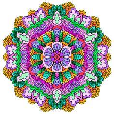 Mandala: лучшие изображения (19299) | Мандалы, Дизайн ...