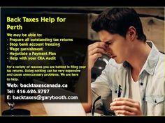 Perth   Back Taxes Canada.ca   416-626-2727   taxes@garybooth.com   CRA Audit, Tax Returns