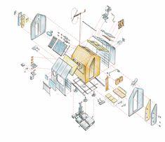 Diogene by Renzo Piano  #student #spaziminimi #sostenibilità #smartspaces #compactliving #eco