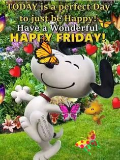 Happy Friday - Best of Wallpapers for Andriod and ios Good Morning Snoopy, Good Morning Happy Friday, Monday Morning Quotes, Funny Good Morning Quotes, Good Morning Funny, Good Morning Inspirational Quotes, Morning Greetings Quotes, Good Morning Picture, Happy Weekend