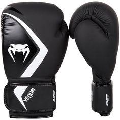 Black//White Venum Shield Pro Boxing Gloves
