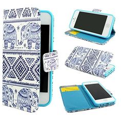 The fact that it has elephants, its a case and its a wallet too!!