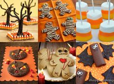 More creepy Halloween food ideas - how about some grave stone desserts and appetizers? Description from charliehunnammarried.blogspot.com. I searched for this on bing.com/images
