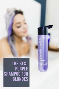 the matrix total results so silver shampoo is amazing!  check out my blog for my full review on why this is the winner of all purple shampoos