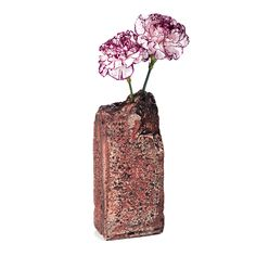 Brick Vase, $50, by Elizabeth New