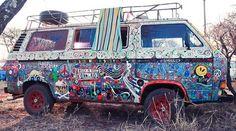 My friend's Hippie Van!