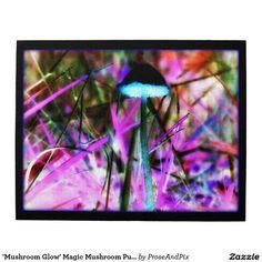Thanks buyer ~ Happy shrooming! 'Mushroom Glow' Magic Mushroom Puzzle #zazzle #gifts #familyfun #mycology #photography #pnw #nature