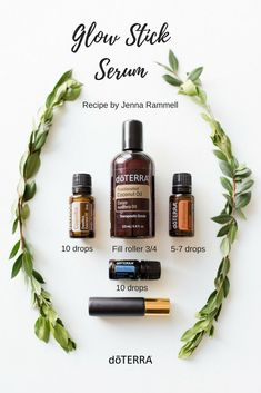 DIY Skin Care Tips :  We made this amazing face serum from wellness advocate Jenna Rammell! We are in