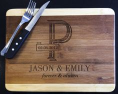 Engraved cutting board from Midwest Engraving check out www.midwestengraving.com for more designs!