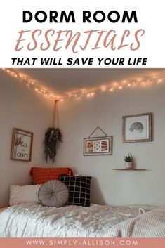 Here's some college dorm room essentials that every college student needs. I wish I thought about these dorm Essentials when I was getting ready for college. This list includes dorm room essentials for guys, girls, and freshman. This is the best dorm room essentials list I've seen. Don't forget these important dorm room essentials.#dormroomessentials #dormroom #dorms College Dorm Essentials, Room Essentials, Cool Dorm Rooms, College Dorm Rooms, Dorm Room Layouts, Dorm Kitchen, Dorm Room Bedding, Dorm Room Organization, College Dorm Decorations