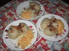 Pyzy ziemniaczane z mięsem