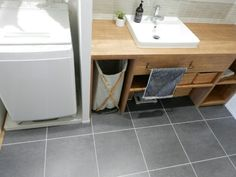 Kitchen Styling, Kitchen Decor, Floor Colors, Home Renovation, My House, Tiles, Sink, House Design, Flooring