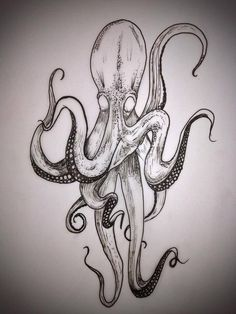kraken tattoos | Kraken | Tattoos! | Pinterest