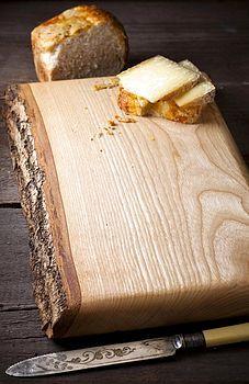 waney ash chopping board  £64.50