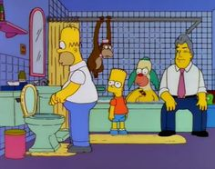 the Simpsons without context