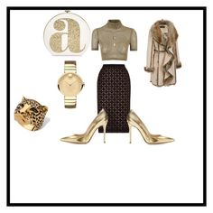 """""""Untitled #199"""" by deirdre35 on Polyvore featuring Roland Mouret, Glamorous, Black Rivet, Gianvito Rossi, Aéropostale, Movado, Palm Beach Jewelry, Kate Spade, women's clothing and women Palm Beach Jewelry, Roland Mouret, Two Piece Outfit, Women's Clothing, Kate Spade, Glamour, Clothes For Women, Polyvore, Outfits"""